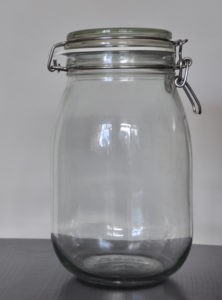 Dekoration, Berlin, Glassflasche, Müsli, large muesli jar, decor