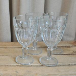 Eisschalen, Glas, glass ice cream glasses