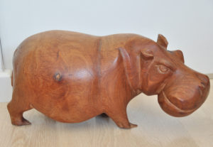 Afrikanische Nilpferd Holz, African, Hippo, Wood