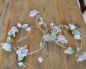 Dekoration, Berlin, Rosengirlande, Rose garland, decor