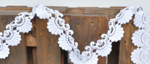 lace string decor