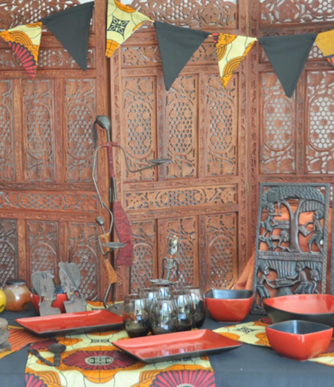Afrikanische deko African decor