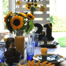 Kids party theme decor hire berlin sunflower 21st kinderparty themen-deko mottoparty