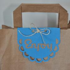 Party decor craft workshop | diy personalised party favour bags - Zebra Rose party decor hire berlin kids theme parties